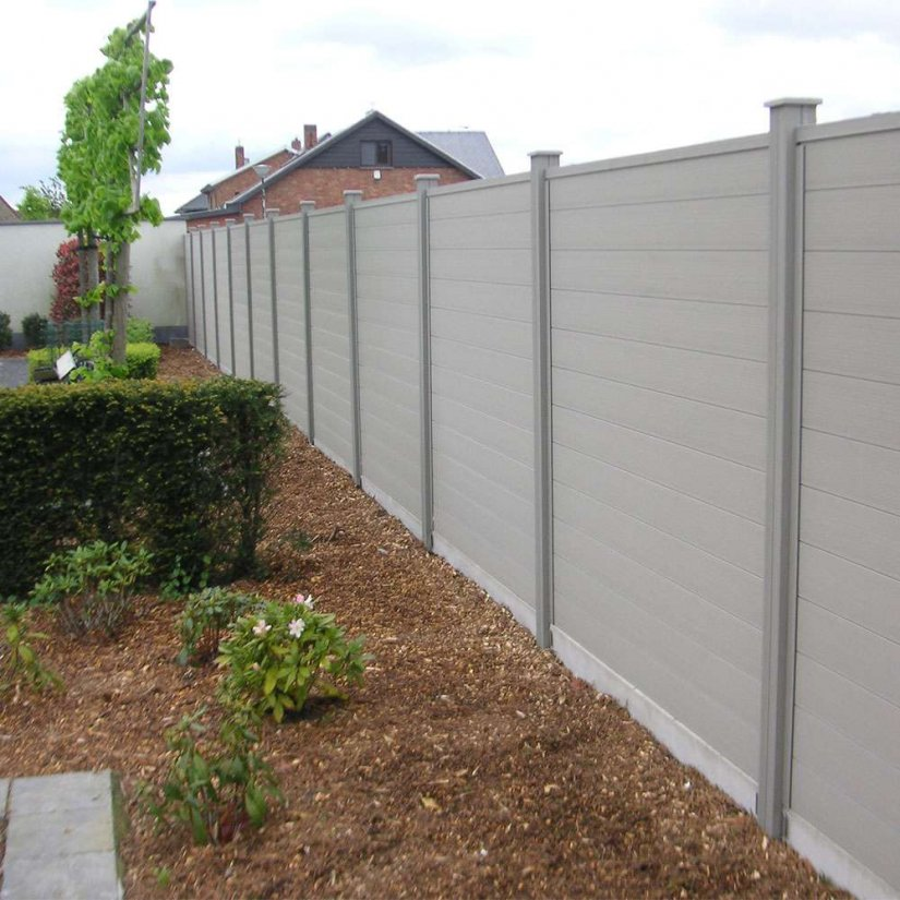 Modulair Duofuse Tand en Groef plankensysteem - 200x180cm - Stone Grey