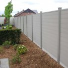 Modulair Duofuse Tand en Groef plankensysteem - 200x200cm - Stone Grey
